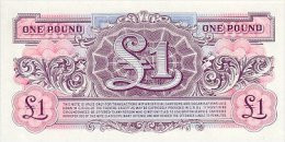 Great Britain 1 Pound 1948 Pick M22 UNC - British Armed Forces & Special Vouchers