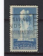 ETATS-UNIS - Y&T N° 332° - Geyser Old Faithful - Usati