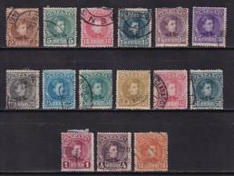 1901 SERIE ALFONSO XIII CADETE COMPLETA USADA. MUY BONITA. 162 € - Used Stamps