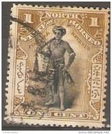 North Borneo - 1897 Dyak Chief 1c Postally Used   Sc 79 - North Borneo (...-1963)