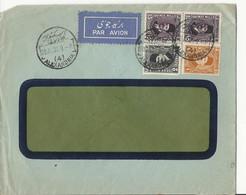 Enveloppe D'Egypte (1936) Par Avion - Alexandrie - Covers & Documents