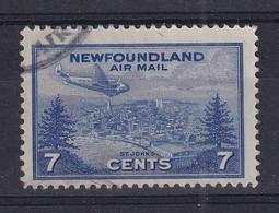 Newfoundland: 1943   Air - St John's  SG291   7c   Used - 1908-1947