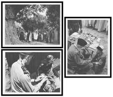 3 Cp En F.M - FM - Pacification Franco Musulmane - Médecin - Soldat Instituteur - Enfants Kabyles Ecole - Imp. BACONNIER - Andere Oorlogen