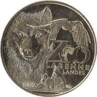 2021 MDP259 - LABENNE - Zoo De Labenne (Loup, Perroquet Et Lémuriens) / MONNAIE DE PARIS 2021 - 2021
