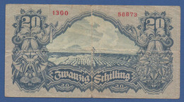AUSTRIA - P.116 – 20 Schilling 29.05.1945 - Circulated Serie 1300 56873 - Austria