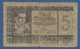 AUSTRIA - P.121 – 5 Schilling 04.09.1945 - Circulated See Photos - Austria