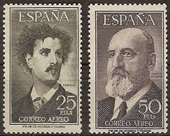 España 1164/1165 * Fortuny Y Torres Q. 1955. Charnela - 1951-60 Neufs