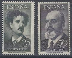España 1164/1165 */** Fortuny Y Torres Q. 1955. 1164 Goma Alterada. 1165 ** - 1951-60 Neufs