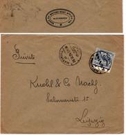 1924 Alexandria > Leipzig Abs = British Bank Of Westafrica - Covers & Documents