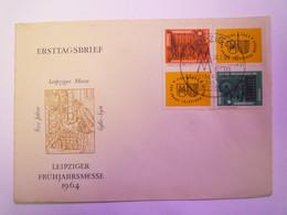 2021 - 3399  ENVELOPPE ERSTAGSBRIEF  LEIPZIGER FRÜHJAHRSMESSE  1964   XXX - Briefe U. Dokumente