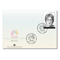 ONU Genève 2021 - John Lennon (Beatles) FDC - FDC