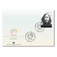 ONU Vienne 2021 - John Lennon (Beatles) FDC - FDC