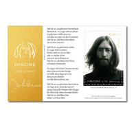 ONU Vienne 2021 - John Lennon (Beatles) Feuillet ** - Blocks & Kleinbögen