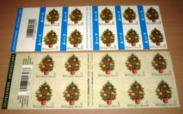 Boekje 83 &84**Setje Kerstboekjes Van 2007 - Carnets De Noël Des Années Passées - Christmas- Weinachten - Postzegelboekjes 1953-....
