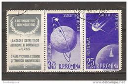 Romania - 1957 Satellite Launch CTO - Gebraucht