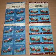 Boekje 116 & 117** Setje Kerstboekjes Van 2010 - Carnets De Noël Des Années Passées - Christmas- Weinachten (2 Scans) - Postzegelboekjes 1953-....