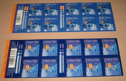 Boekje 133 & 134** Setje Kerstboekjes Van 2012 - Carnets De Noël Des Années Passées - Christmas- Weinachten - Postzegelboekjes 1953-....
