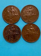 4 Pièces De 10 Centimes Dupuis / Monnaie Française / Vendu En L'état - D. 10 Centimes