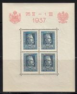 Pologne 1937 Yvert BF 2 ** Et BF 3 ** Neufs Sans Charnière. Visite Roi Carol De Roumanie. (2006t) - Blokken & Velletjes