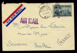 Etats-Unis Lettre De 1958 Fort Lee -> Saverne (France) Voir Scan - Covers & Documents