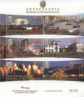 Chile 2010, Independence Celebration In Antofagasta, MNH S/S - Chile