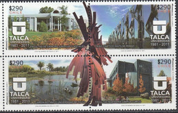 Chile 2011, Talca University, MNH Stamps Set - Chile