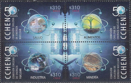 Chile 2014, 50th Anniversary Of Chilean Atom Energy Comission, MNH Stamps Set - Chile