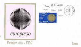 42056. Carta MADRID 1970. Tema EUROPA - FDC