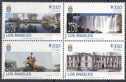 Chile 2014, 275th Anniversary Of The City Los Ángeles, MNH Stamps Set - Chile