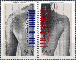Chile 2015, Fight Against Human Trafficking, MNH Stamps Set - Chile