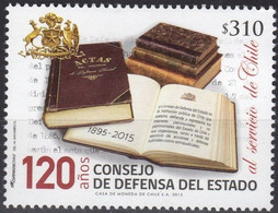 Chile 2015, S120th Anniversary If Rate Defense Council, MNH Single Stamp - Chile