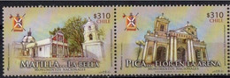 Chile 2016, National Monuments, MNH Stamps Strip - Chile