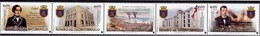 Chile 2017, 200th Anniversary Of Independence, MNH Stamps Strip - Chile
