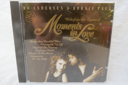 "CD ""Bo Andersen & Bernie Paul"" Moments In Love, Welterfolge Der Popmusik - Disco, Pop"