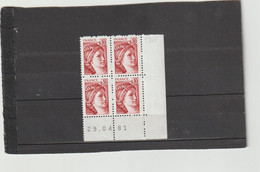N° 1965 - 0,10 SABINE - 23° Tirage Du 27.4.81 Au 4.5.81 - 29.04.1981 - - 1970-1979