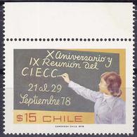 Chili YT 501 Mi 894 Année 1978 (MNH **) Ecolière - Chile
