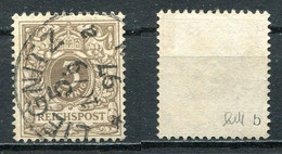 D. Reich Michel-Nr. 45b Vollstempel - Geprüft - Oblitérés