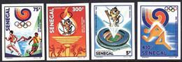 Senegal 0768/71 Non Dentelés, JO De Séoul 1988 Corée, Tigre - Zomer 1988: Seoel