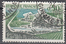 France 1961 Michel 1368 O Cote (2015) 0.30 Euro Cognac Cachet Rond - Used Stamps