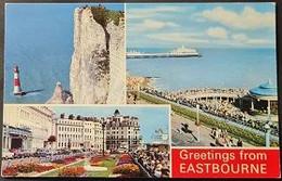 Ak Uk - England - Eastbourne - Stadtansichten - Eastbourne