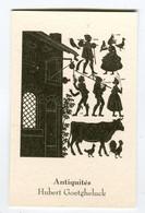Carte De Visite °_ Carton-Antiquités-Hubert-59 Caestre - Cartoncini Da Visita
