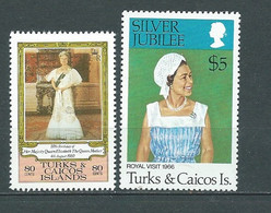 Turks Et Caiques  - Yvert Timbre Du Bloc N°7 + N° 494  -  Mala 10102 - Turks And Caicos