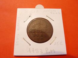 Allemagne  1/2 Stuber  Juliers Berg  1783  P.M - Sonstige