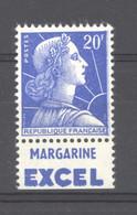France  :  Yv  1011 Bb  **  Pub Excel - Unused Stamps
