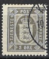 Denmark 1914/1920. Dienstmarke, Officials, Mi.Nr. 12, Used O - Dienstpost
