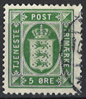 Denmark 1914/1920.Dienstmarke, Officials, Mi.Nr. 14, Used O - Dienstpost