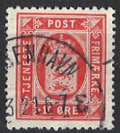Denmark 1914/1920. Dienstmarke, Officials, Mi.Nr. 16, Used O - Dienstpost