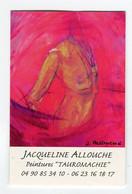 Carte De Visite °_ Carton-Peintures-Tauromachie-Jacqueline-04 90 - Cartoncini Da Visita