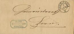 1870 , ALEMANIA , CARTA CIRCULADA CON FECHADOR DE RADOLFZELL CON FECHA DE 7 DE JUNIO - [1] Prephilately