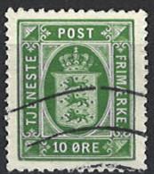 Denmark 1914/1920. Dienstmarke, Officials, Mi.Nr. 17, Used O - Dienstpost